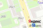 Схема проезда до компании ПрофиПринт в Москве