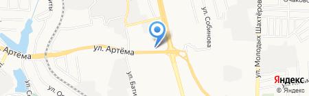 Best на карте Донецка