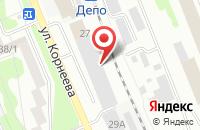 Схема проезда до компании Пресс-Хаус Лэнд в Домодедово
