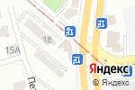 Схема проезда до компании Ветка в Донецке
