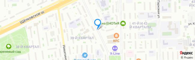 Щёлковский проезд