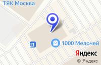 Схема проезда до компании ПТФ ДВЕРИ ДЛЯ ВАС в Москве