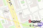 Схема проезда до компании Убежище31 в Москве