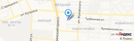 Визит на карте Донецка