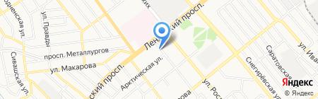 СССР на карте Донецка