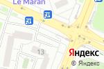 Схема проезда до компании Русь в Москве
