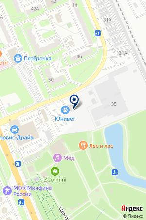 ГСК ЮЖНЫЙ на карте Домодедово