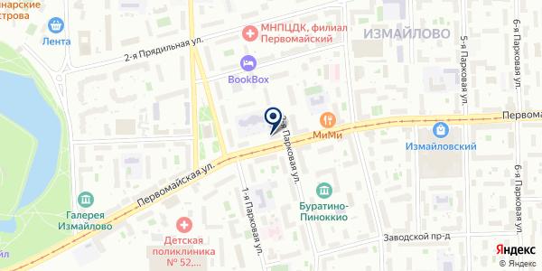 Совет общественных пунктов охраны порядка на карте Москве