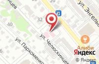 Схема проезда до компании Новороссийская городская организация профсоюза работников здравоохранения РФ в Новороссийске