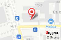 Схема проезда до компании Системы Безопасности в Москве