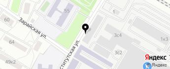 Renault Минута на карте Москвы