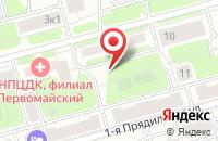 Схема проезда до компании Молния в Москве