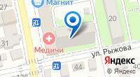 Компания Медичи на карте
