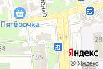Схема проезда до компании Студия красоты Сизовой Елизаветы в Новороссийске