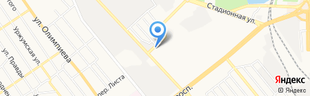 Валентина на карте Донецка