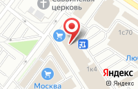 Схема проезда до компании Интелтранс в Москве