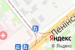 Схема проезда до компании Алден-трейд в Донецке