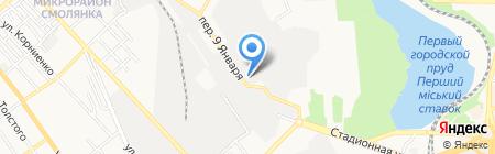LaserFoto на карте Донецка