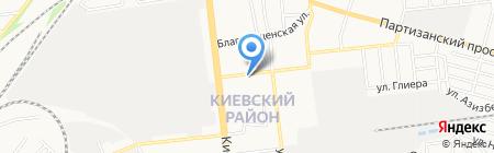 РКОМ на карте Донецка