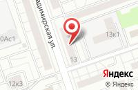 Схема проезда до компании Дюна в Москве