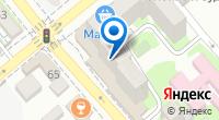 Компания Форвард на карте