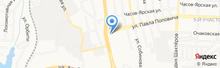 Comfy на карте Донецка