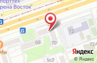 Схема проезда до компании Бизнеспартнер в Москве
