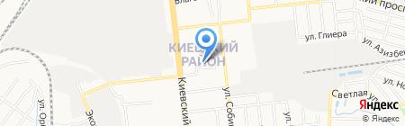 Партнер на карте Донецка