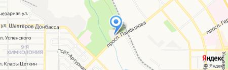 Синтез ойл на карте Донецка