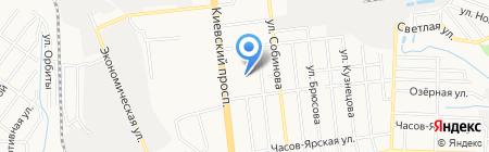 Форто на карте Донецка