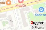 Схема проезда до компании Универсам в Москве