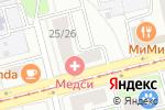 Схема проезда до компании Идея Фикс в Москве