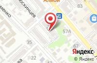 Схема проезда до компании Стройсервис в Новороссийске