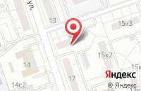 Схема проезда до компании Медидез в Москве