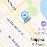 Планета-тур на карте Новороссийска