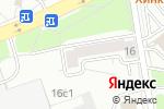 Схема проезда до компании Веб Посад в Москве