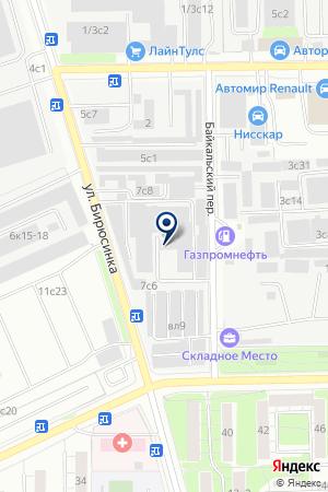 ТФ АРДИС-ЭСТ на карте Москвы