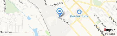 Вёдрышко на карте Донецка