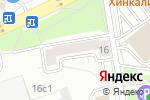Схема проезда до компании KINO в Москве