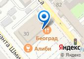 Beograd на карте