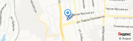 Донецкая специализированная гуманитарная школа №65 на карте Донецка