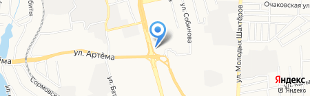 Янтар Полісся на карте Донецка