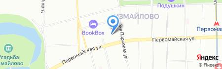 Средняя общеобразовательная школа №445 на карте Москвы