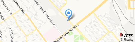 Автомобильная школа Донецкой областной организации всеукраинского союза автомобилистов на карте Донецка