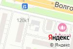 Схема проезда до компании Авиационный отряд специального назначения в Москве