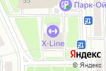 Схема проезда до компании Oк-Dekor в Москве