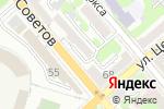 Схема проезда до компании Центр стоматологии доктора Костякова в Новороссийске