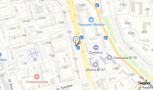 Класс!. Схема проезда в Донецке