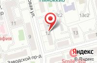 Схема проезда до компании Мебтехкомплект в Москве