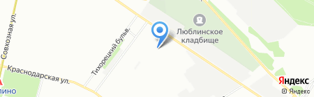 Электрика на карте Москвы
